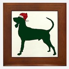 Black-&-Tan-Coonhound23 Framed Tile