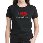 Love My Dietitian Women's Dark T-Shirt