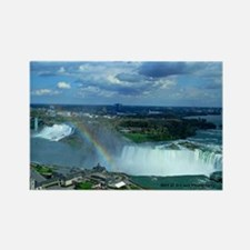 Niagara Falls Rainbow Rectangle Magnet