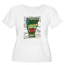 love VT Plus Size T-Shirt