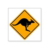 Australian road sign Square