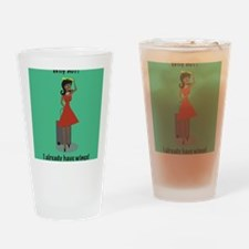 2-AngelAAFA Drinking Glass