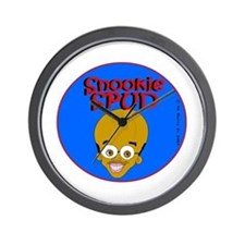 Snookie Spud Wall Clock