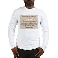 Long Sleeve T-Shirt: Roosevelt patriotism