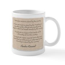 Mug: Roosevelt patriotism