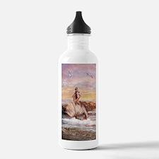 Sunbathing Journal Water Bottle