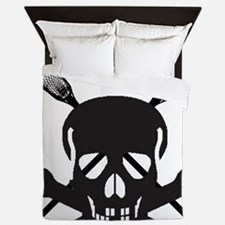 Skull and Bones Lax Queen Duvet