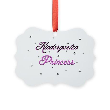 Kindergarten Princess Picture Ornament