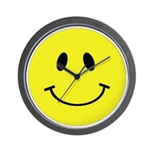 smiley-face-large Wall Clock