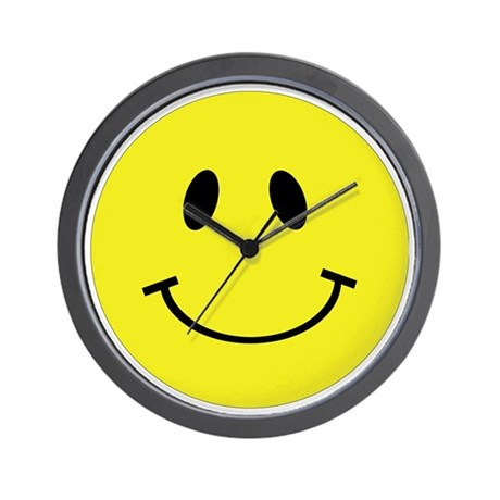 Smiley Face Large Wall Clock By Admin Cp4740434