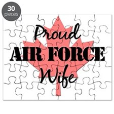 proudairforcewife-mapleleaf Puzzle