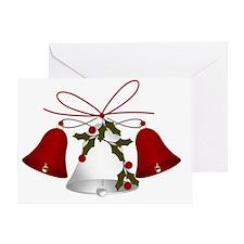 Christimas Bells Greeting Card