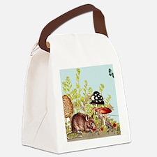 woodland mouse-mousepad Canvas Lunch Bag
