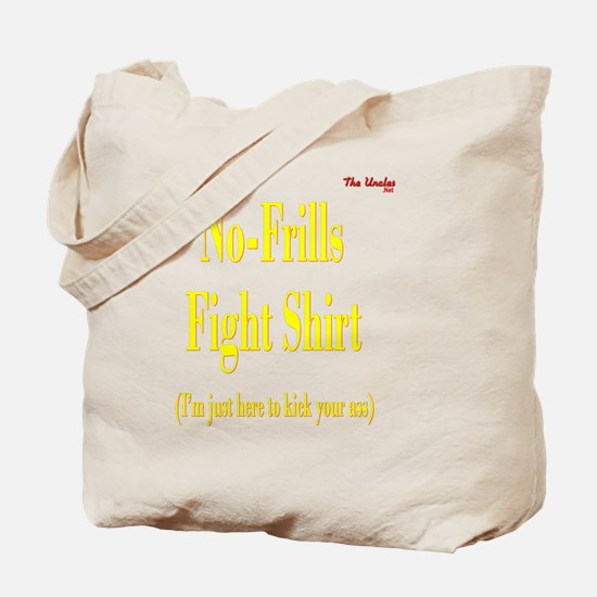 2-No Frills Fight Shirt PNG Tote Bag