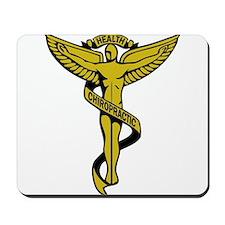 Chiropractic Symbol Mousepad