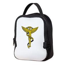 Chiropractic Symbol Neoprene Lunch Bag