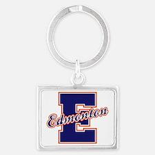 Edmonton Letter Landscape Keychain