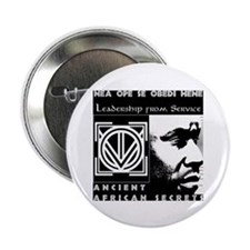 "Cool Adinkra symbols 2.25"" Button (100 pack)"
