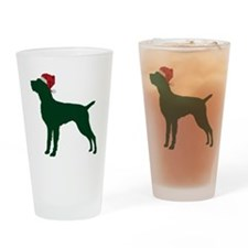 German-Wirehaired-Pointer23 Drinking Glass