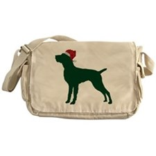 German-Wirehaired-Pointer23 Messenger Bag