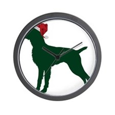 German-Wirehaired-Pointer23 Wall Clock
