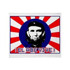 El Abe Vive Burst Throw Blanket