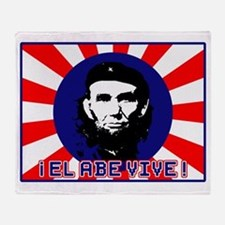 El Abe Vive Burst Throw Blanket