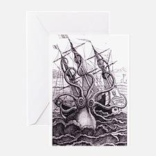 Kraken Greeting Cards