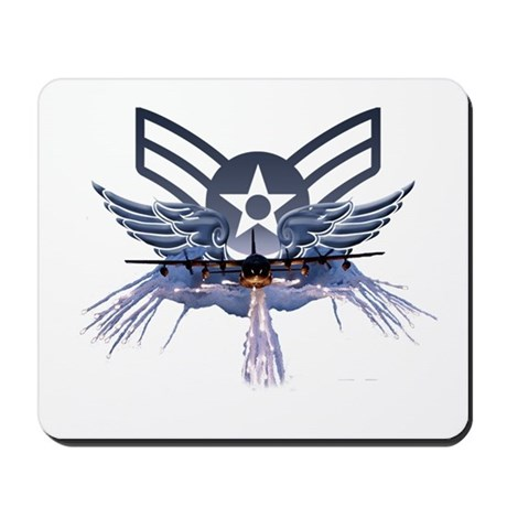 Air Force Power Mousepad