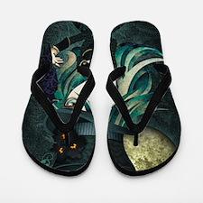 raven_high Flip Flops