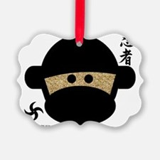ninjamonkeyheadnew Ornament