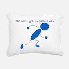 olderfasterrunner Rectangular Canvas Pillow