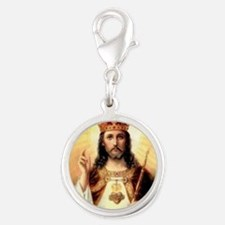 2-ChristKing-300x225 Silver Round Charm