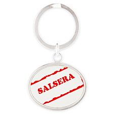 SALSERA STAMP Oval Keychain
