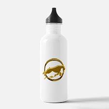 Giant schnauzer holiday Water Bottle