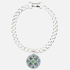 Peacock mandala Bracelet