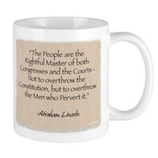 Mug: Lincoln-Rightful Master