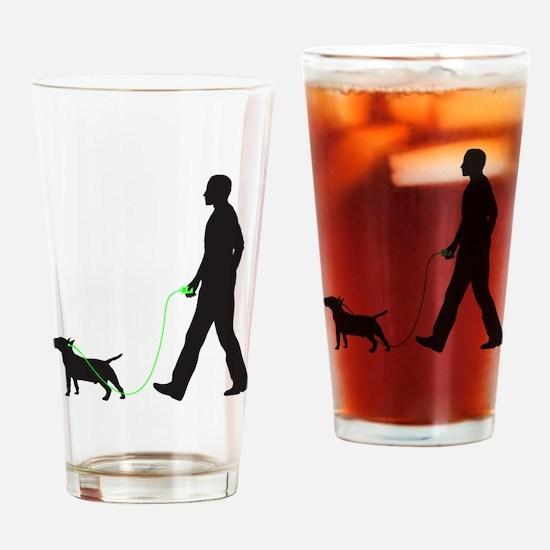 Miniature-Bull-Terrier34 Drinking Glass