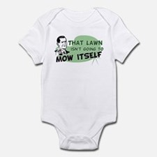 Lawn Won't Mow Itself Infant Bodysuit