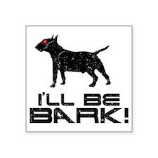 "Miniature-Bull-Terrier24 Square Sticker 3"" x 3"""