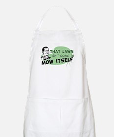 Lawn Won't Mow Itself BBQ Apron