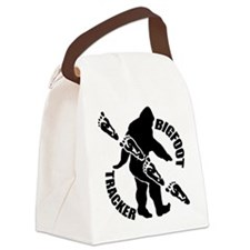 Bigfoot tracker Canvas Lunch Bag