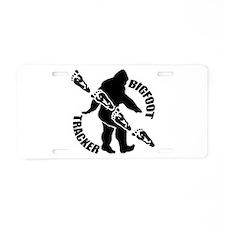 Bigfoot tracker Aluminum License Plate