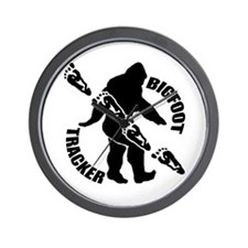 Bigfoot tracker Wall Clock