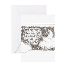 tuck me in tight Greeting Cards