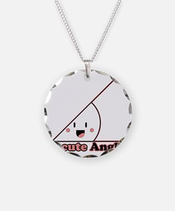 a cute angle Necklace