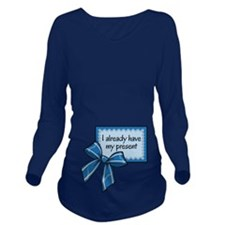 I already have my present - Blue Long Sleeve Mater