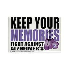 Fight-Alzheimers-2009 Rectangle Magnet