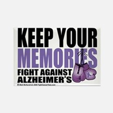 Fight-Alzheimers-2009 Rectangle Magnet