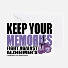 Fight-Alzheimers-2009 Greeting Card
